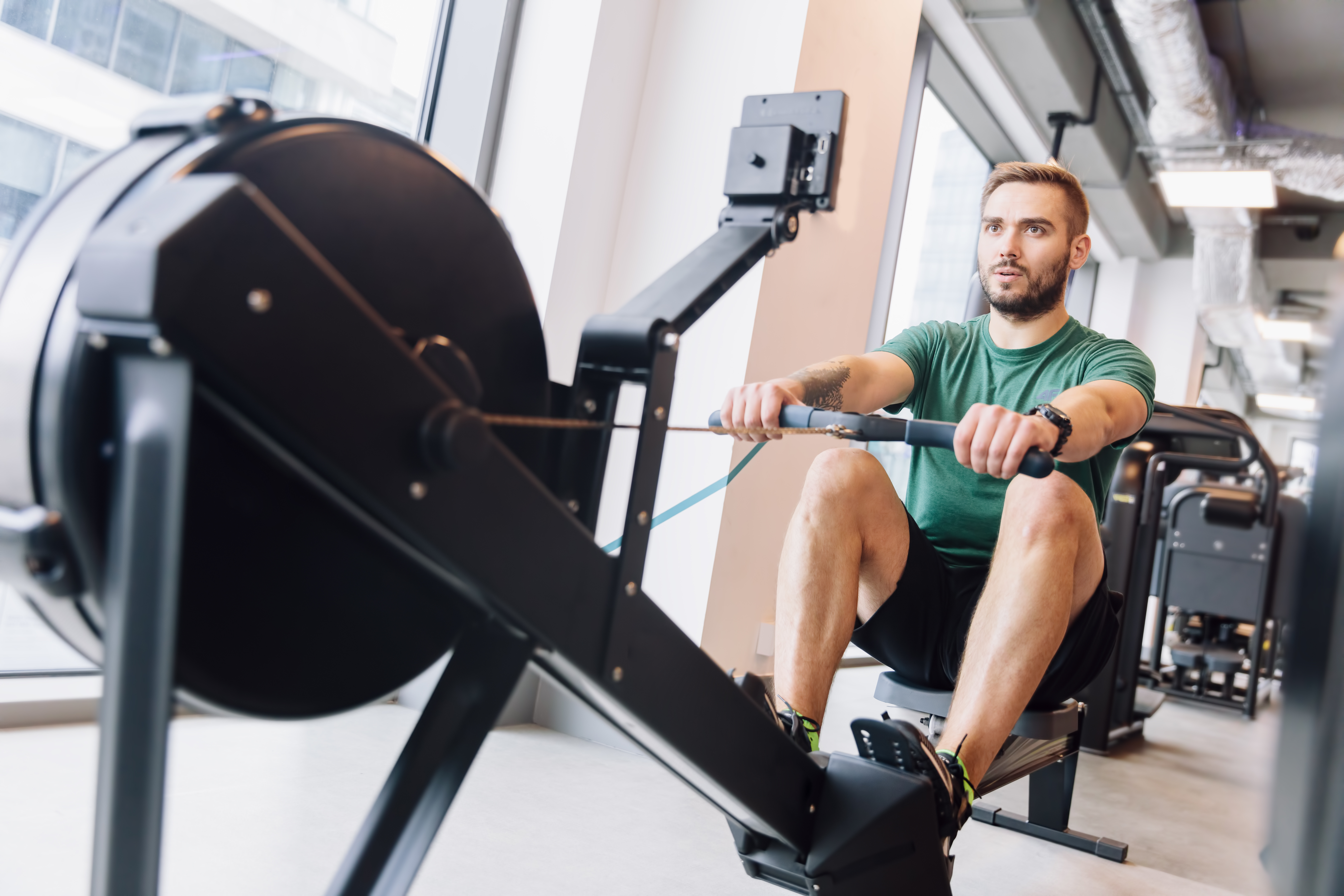 Stock Indoor Rower