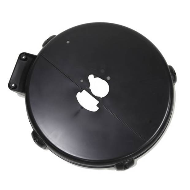 Flywheel Cover Back Black D2
